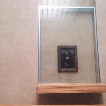 Seeing the Mona Lisa